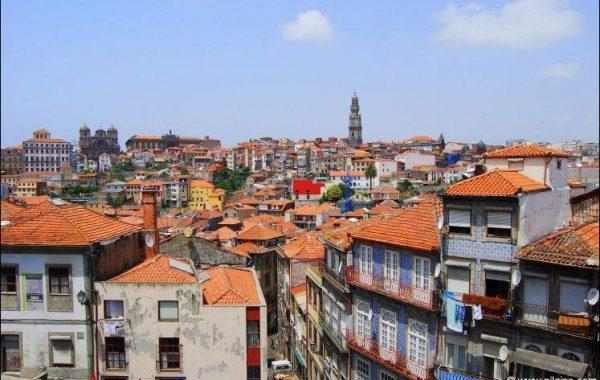 Blick auf Porto, die Hauptstadt des Nordens
